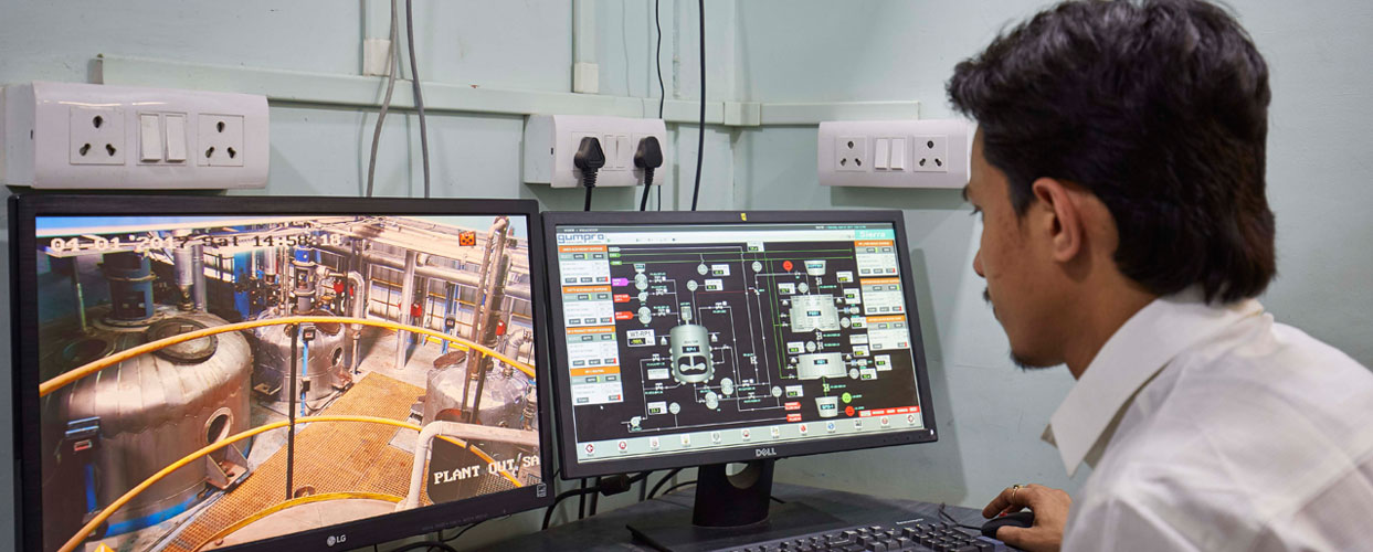 Automated Process – SCADA Operated
